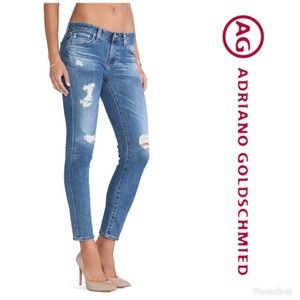 Adriano Goldschmied Stilt Cigarette Leg Jeans 28